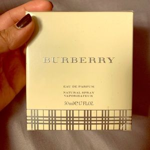 BURBERRY EAU DE PARFUM SPRAY 1.7 OZ - WOMEN
